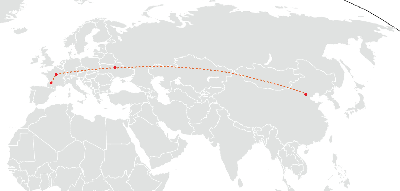 Un tour du monde qui débute par Pékin