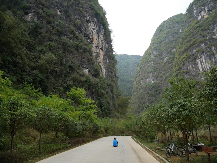 Il y a aussi des endroits reposants en Chine !