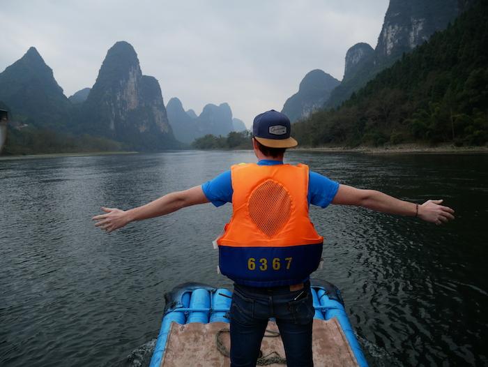 Où embarquer pour une croisière sur le fleuve Li ?