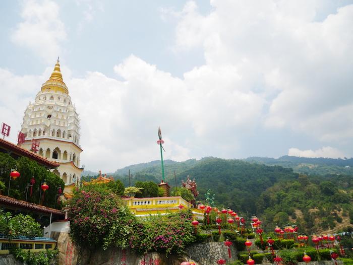 Ne loupez pas le temple Kek Lok Si si vous venez à Penang.