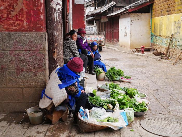 Où acheter ses fruits et légumes à Baisha ?