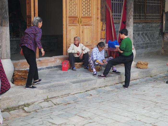 Les femmes du village à Tuanshan !