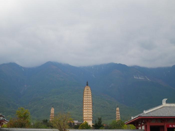 Où sont les trois pagodes ?