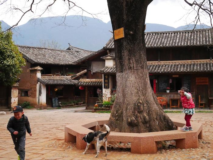 Comment se promener dans Shaxi ?