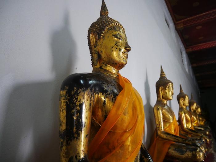 L'entrée est moins chère au Wat Pho.