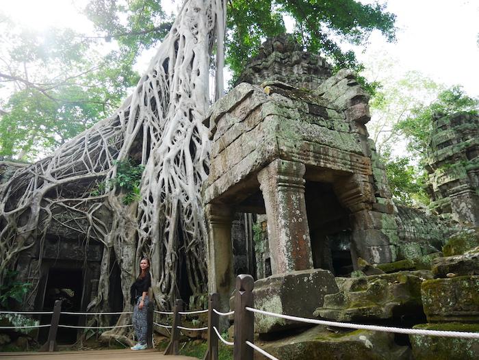 Dans quel film voit-on les temples d'Angkor ?
