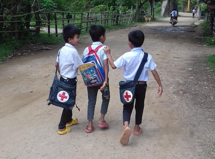 Direction le Cambodge en passant la frontière terrestre !