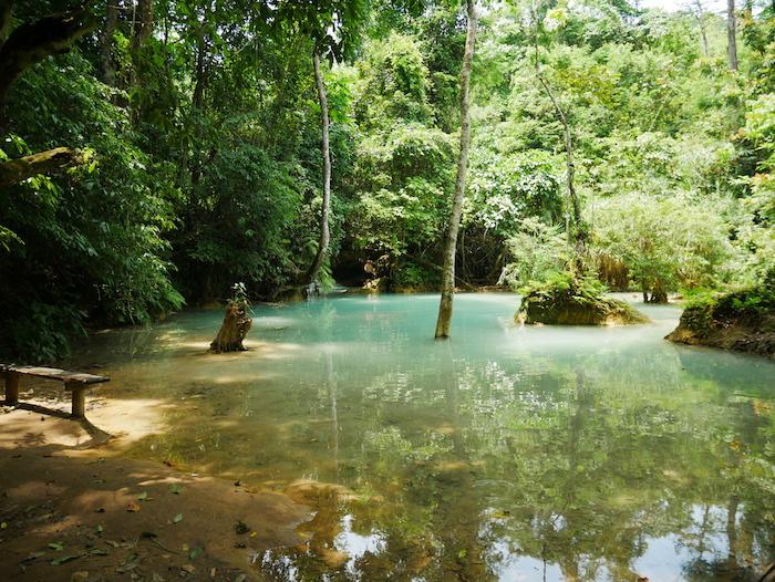Comment se rendre au chutes Kuang Si ?