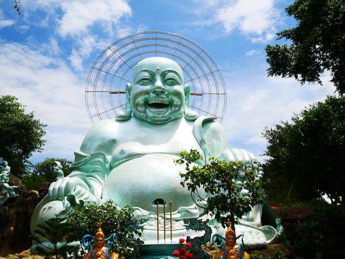 Où voir le Happy Buddha ?