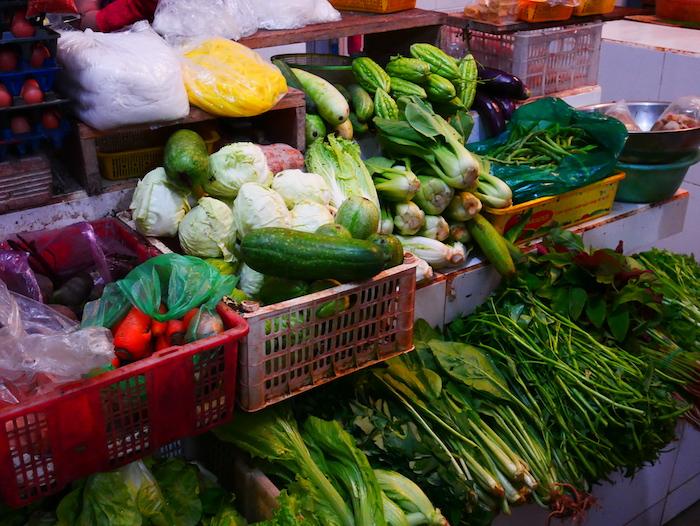 Où achète-t-on des légumes à Dalat ?