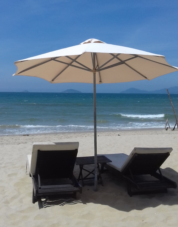 Où se trouve la plage Hidden Beach à Hoi An ?