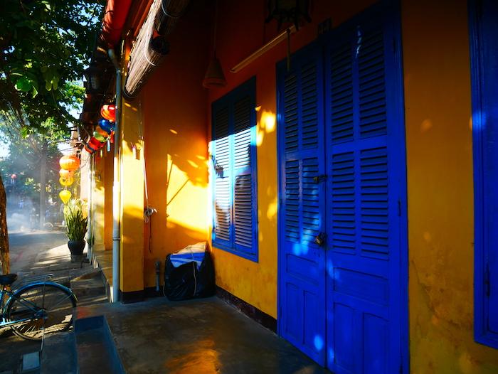 De quelle inspiration est l'architecture à Hoi An ?