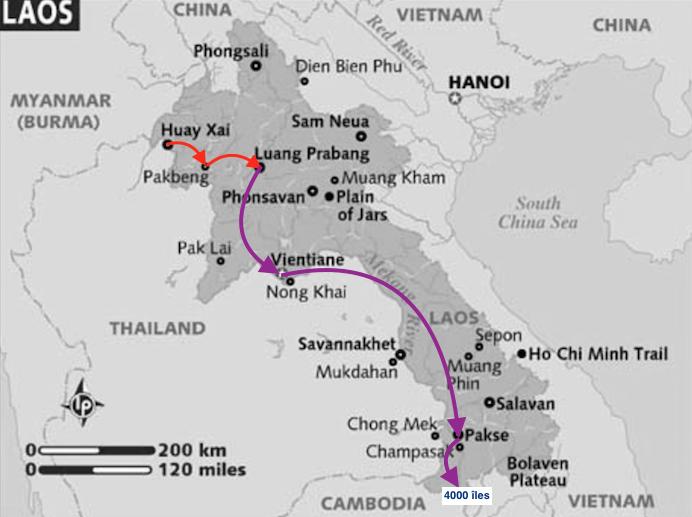 Que visiter au Laos en 3 semaines ?