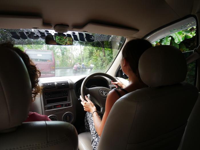 Comment conduire à Bali ?