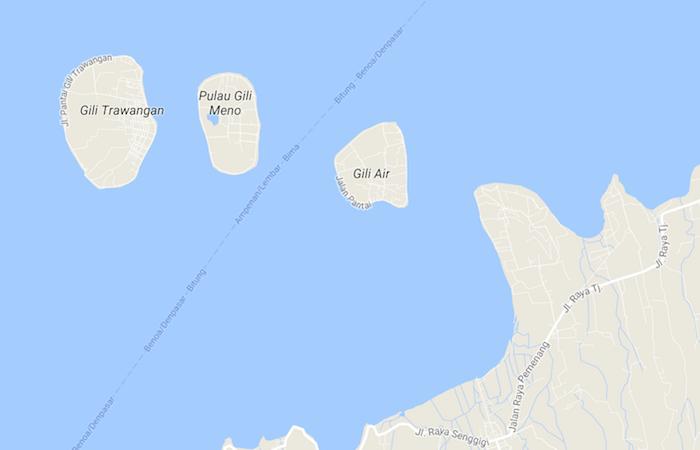 Comment se rendre sur les îles Gili ?