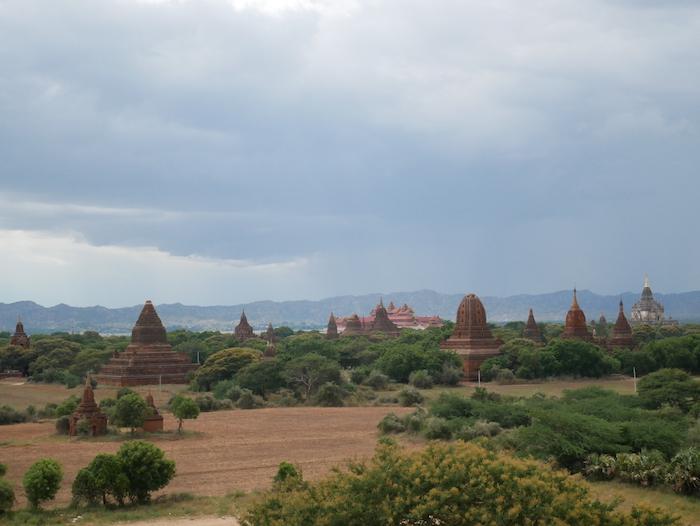Où observer le sunrise à Bagan ?