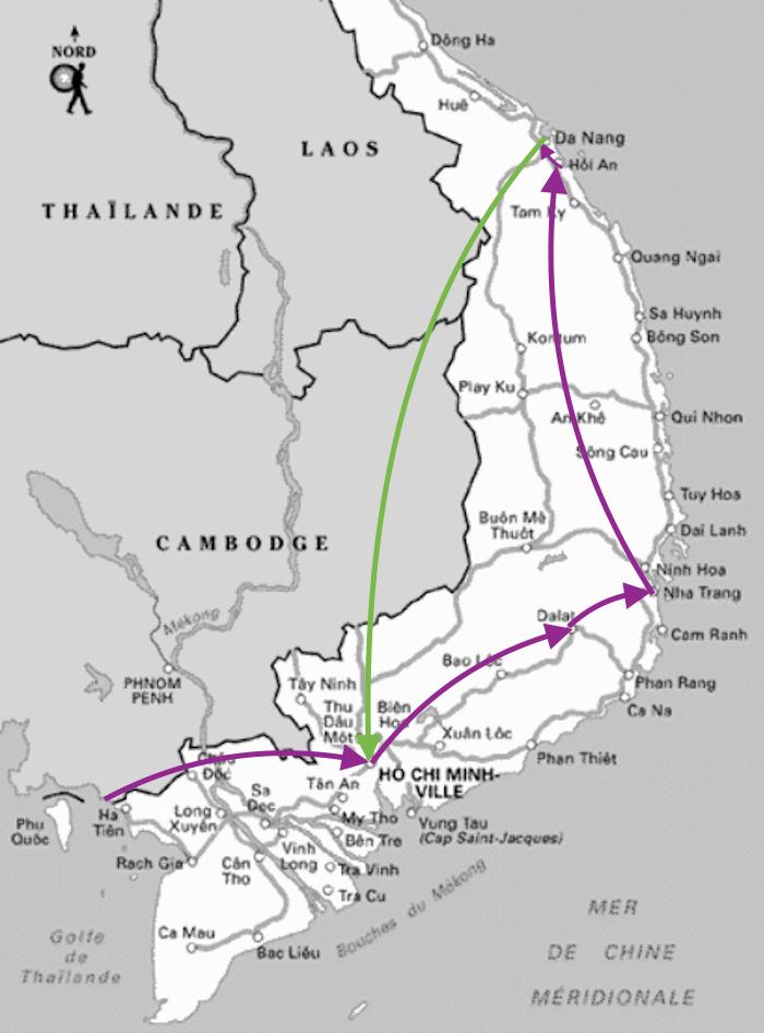 Quel itinéraire suivre au Vietnam ?
