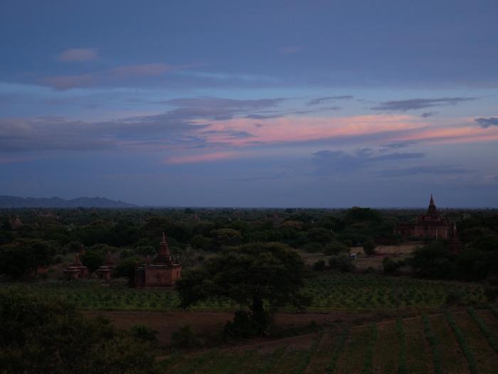 Où voir le coucher du soleil à Bagan ?