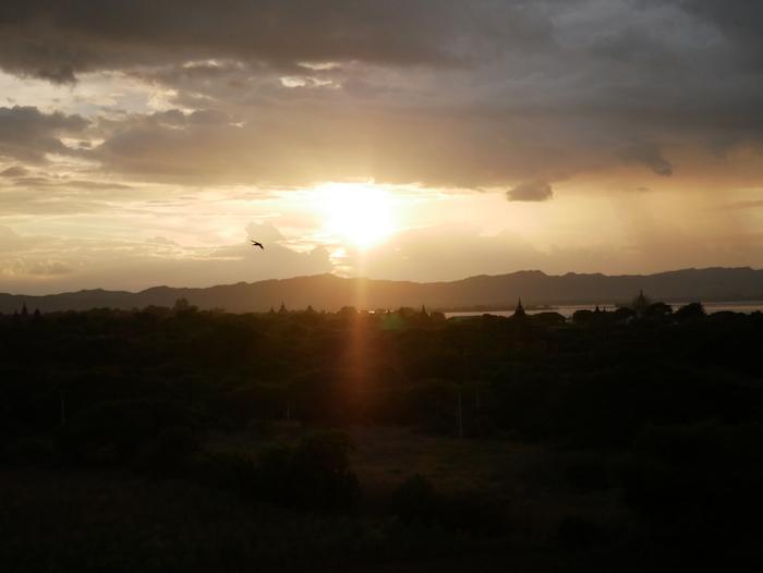 Où observer le sunset à Bagan ?