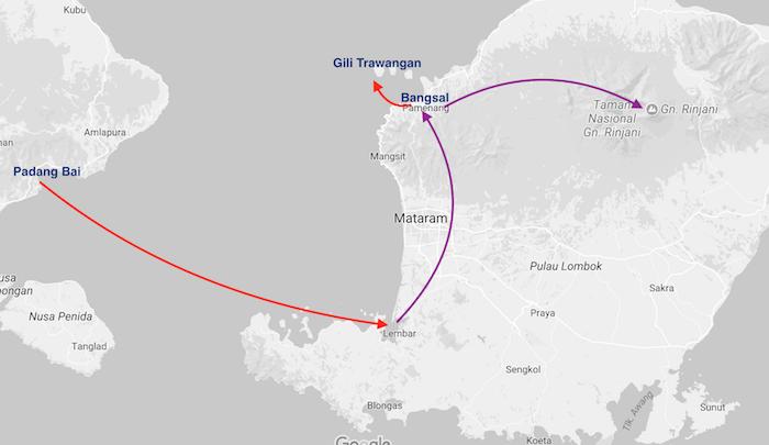 Que faire à Lombok et Gili ?