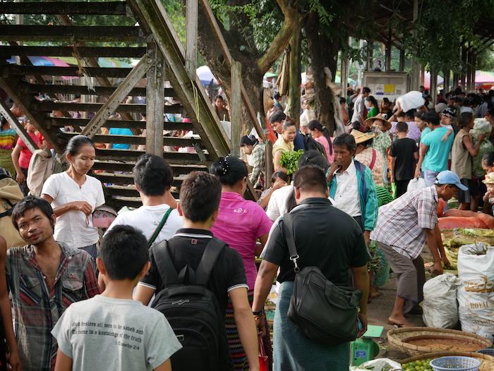 Quel marché fréquenter à Rangoon ?