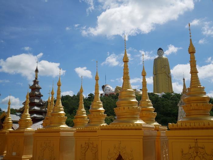 Où se trouve le plus haut bouddha debout du monde ?
