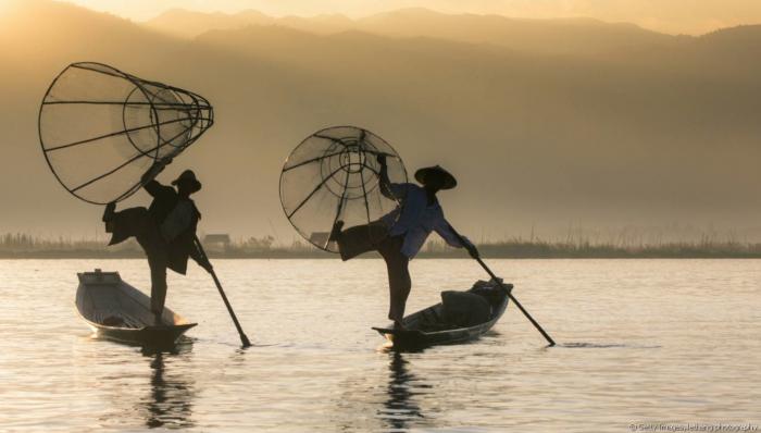 Comment vivent les pêcheurs sur le lac Inle ?
