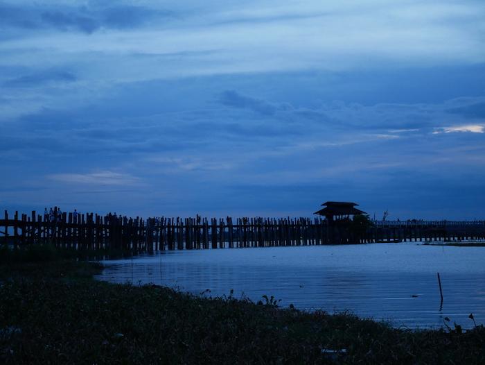 Où se trouve le pont U Bein ?