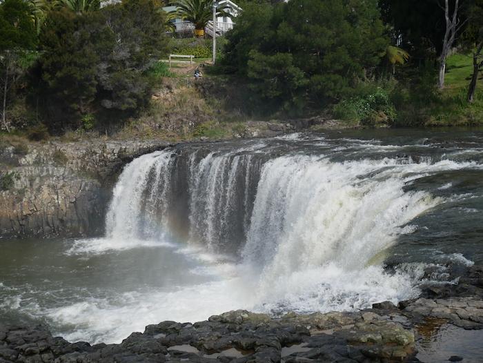 Où voir des chutes d'eau en Nouvelle-Zélande ?