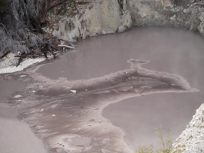 En Nouvelle-Zélande, il y a beaucoup de géothermie.
