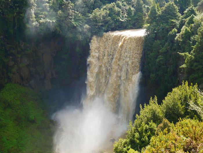 Comment se rendre au Omaru Falls ?