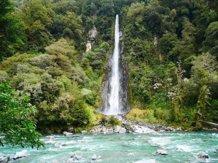 Quelles cascades valent le détour en Nouvelle-Zélande ?