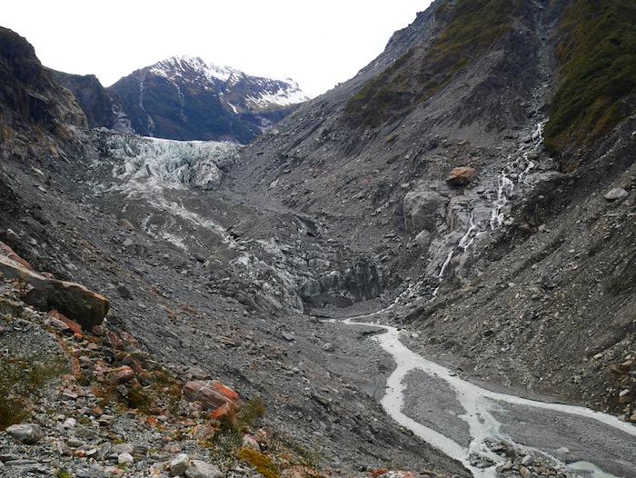 Où sont les glaciers de Nouvelle-Zélande ?