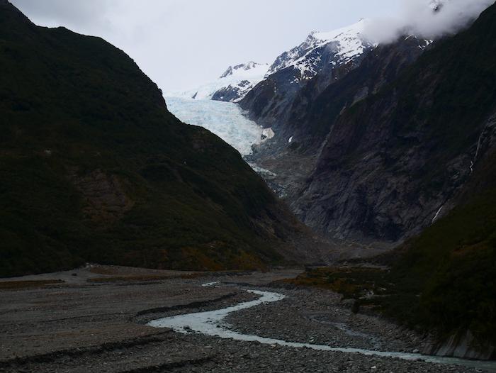 Que deviennent les glaciers de NZ ?