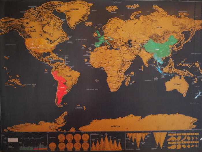 Quel a été notre itinéraire tour du monde au final ?