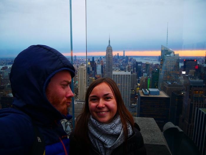 New York est notre dernière étape avant de retrouver notre France natale.
