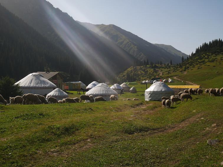 Est-ce que le Kirghizistan est touristique ?