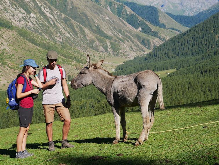 La randonnée de Jeti Oguz vaut le détour pour ses paysages !