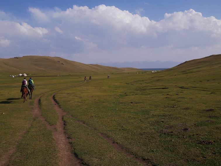 Est-ce facile de faire du cheval au Kirghizistan ?