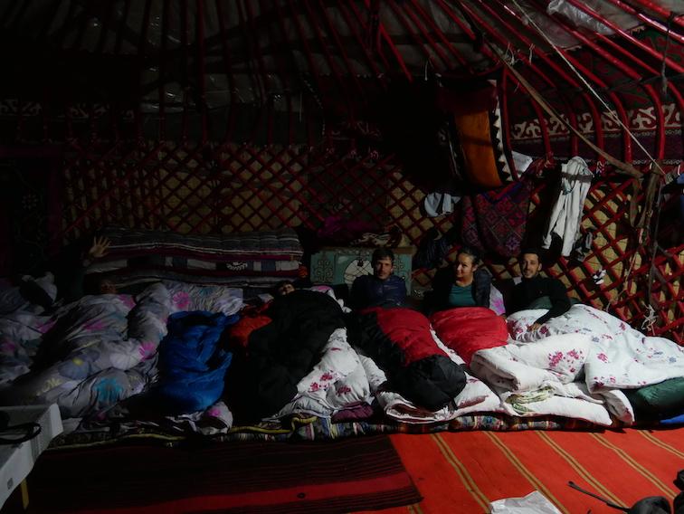 Où dormir en yourte au lac Song Kul ?