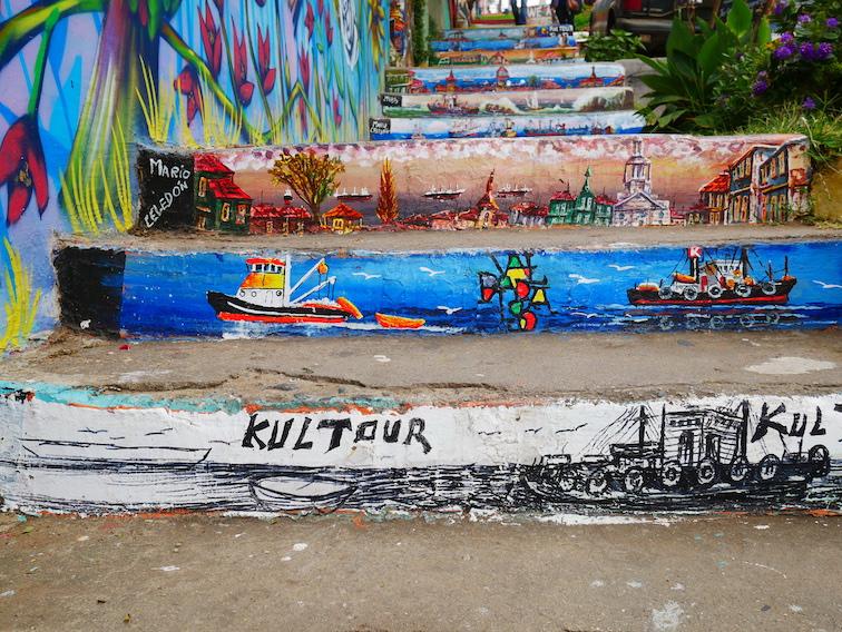 Où trouver du street art à Valparaiso ?