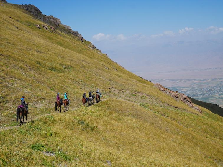 Comment se rendre à Kyzart, départ du trek ?