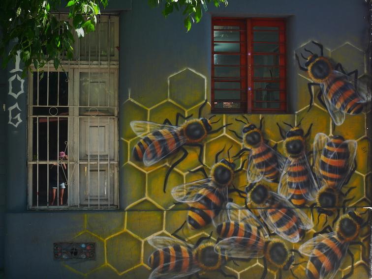 Où trouver du street art à Santiago ?
