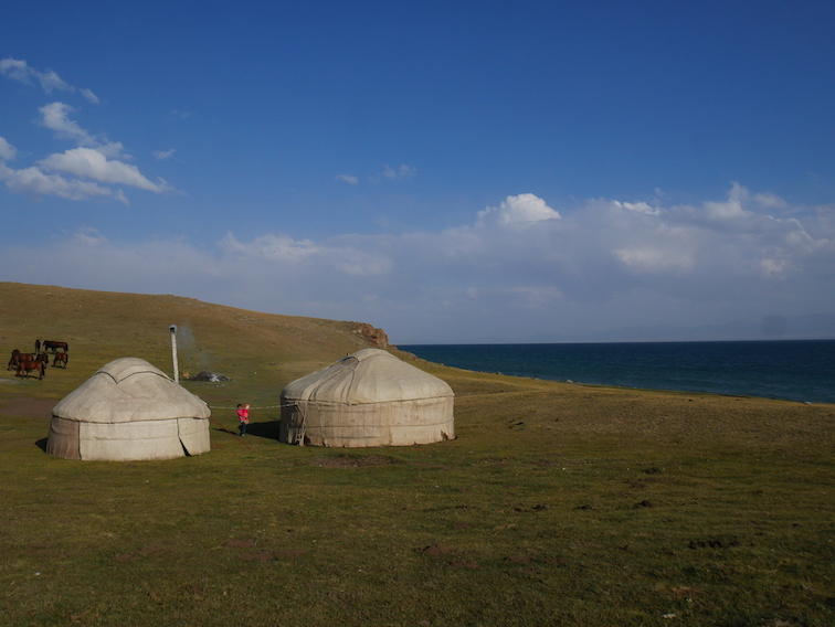 Où dormir en yourte au Kirghizistan ?