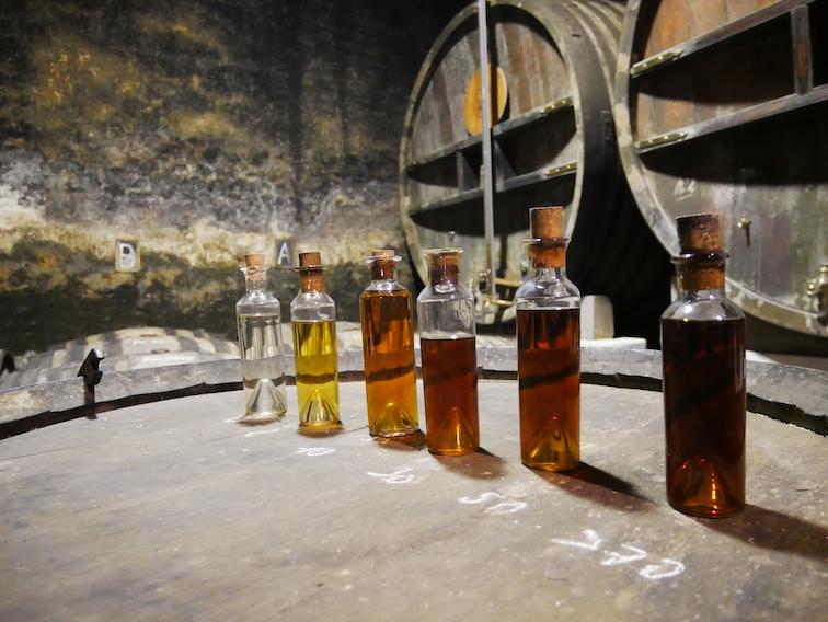 Où sont fabriqués les cognacs ?