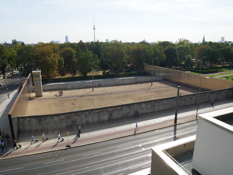 Où se trouve le mur de Berlin ?
