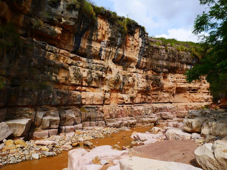 Dans le canyon El Vergel.