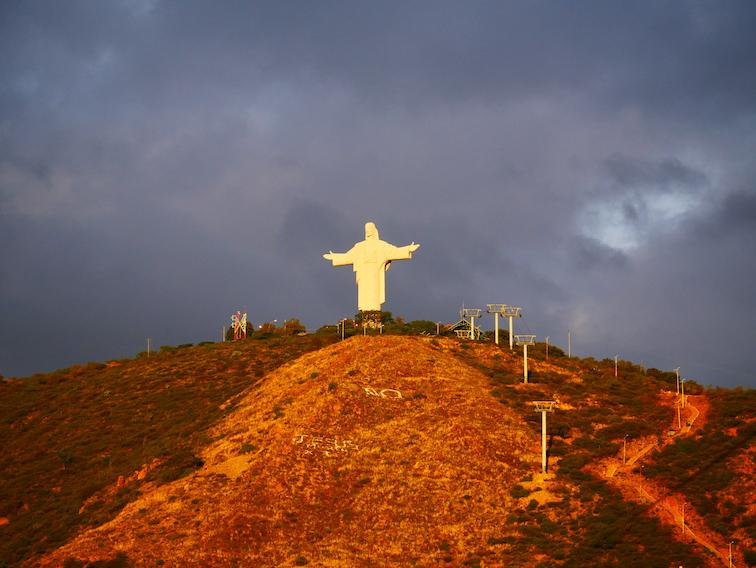 El Cristo de la Concordia à Cochabamba.