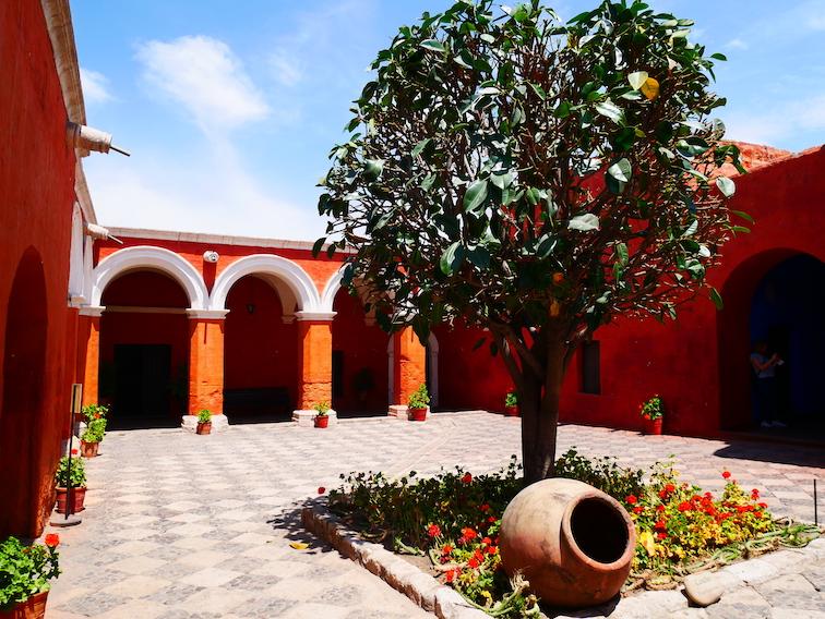 Couvent Santa Catalina à Arequipa.