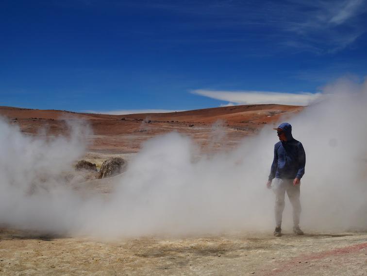 Les geysers de Bolivie.